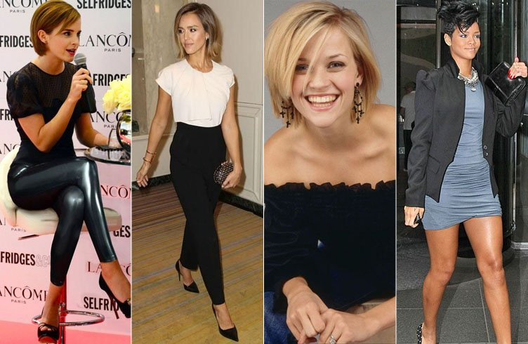 Celebrity Outfit Ideas For Short Hair