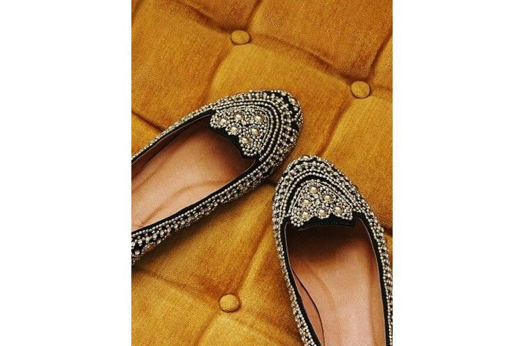 Chic Desi Bejewelled feet