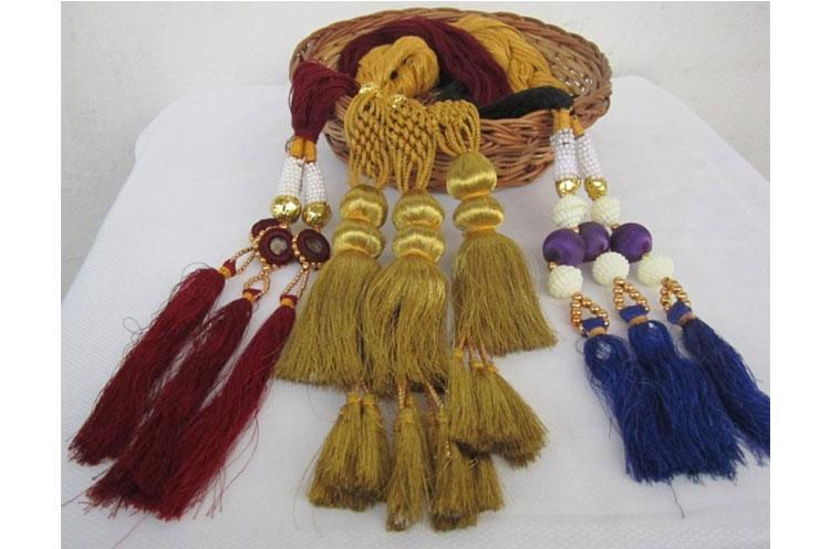 Chic Desi Tassels for the long hair