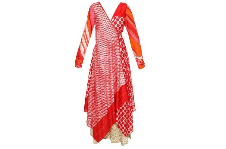 Chic Desi long flowing kurta Style