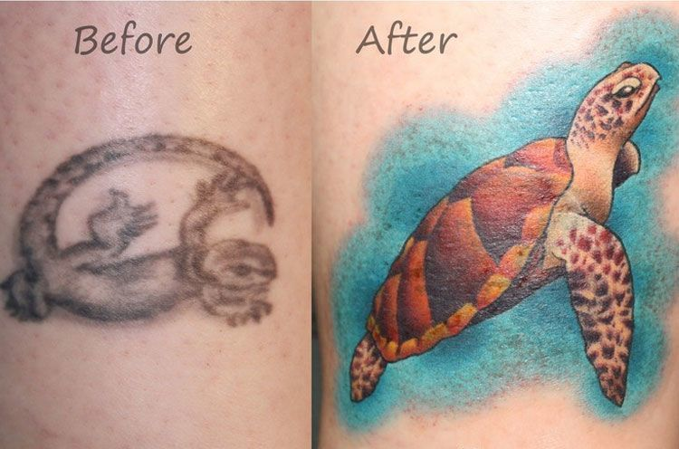 Cover Up Tattoos Ankle