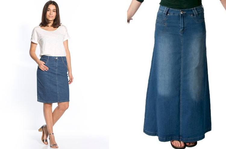 Denim Skirts For Sale - Skirts