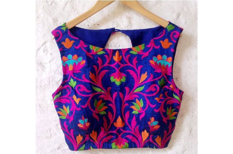 Desi Embroidered tops