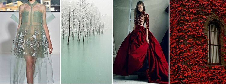 Designer Dresses Vs Nature