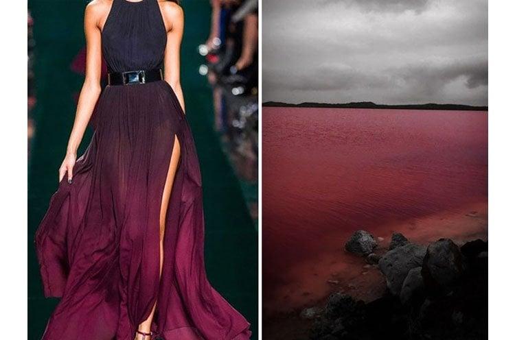 Elie Saab and Pink Lake