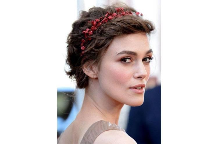 Floral Headbands for Short Hair