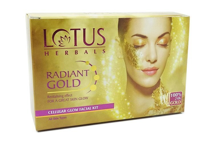 Gold Facials  for skin