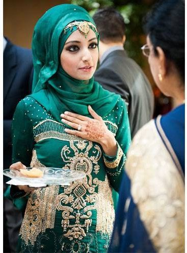 Trendy Hijab Styles To Flaunt At Eid 2015 Party Celebrations