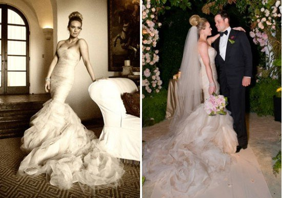 Tulle Wedding Dress Mermaid Vera Wang