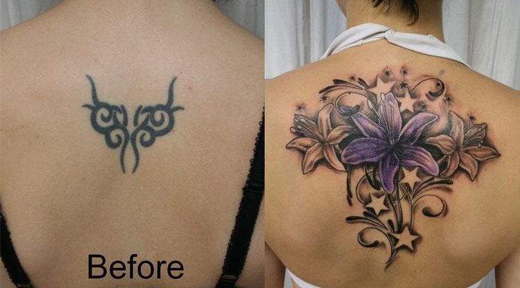 How to cover a tribal tattoo