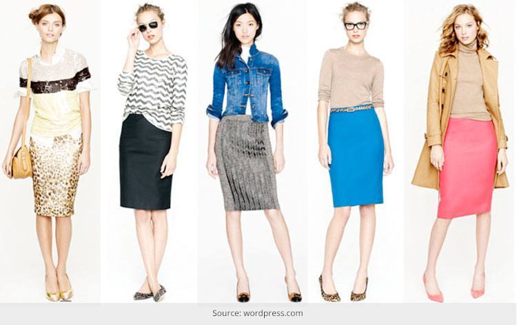 How to rock a pencil skirt