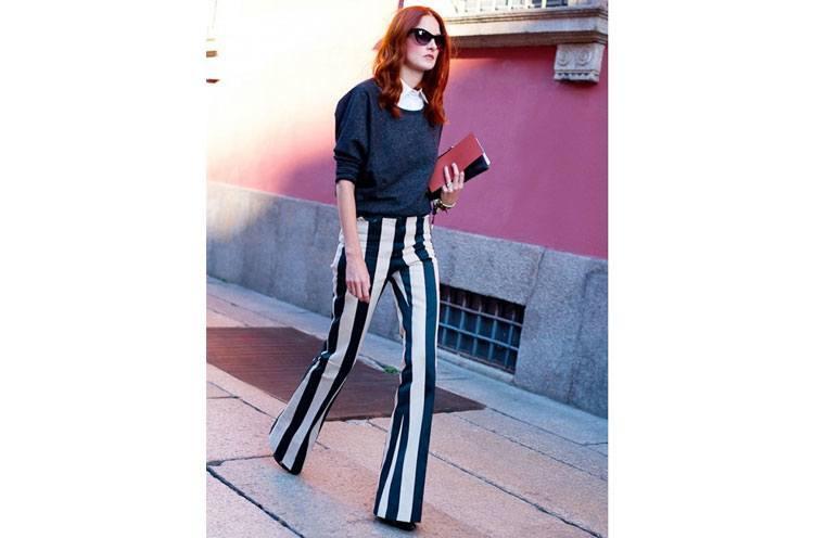 How to wear bolder stripes