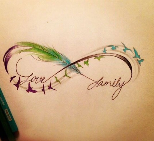 55e40ea5521d3 60 Infinity Tattoo Designs and Ideas with Meaning updated on July 5 ...