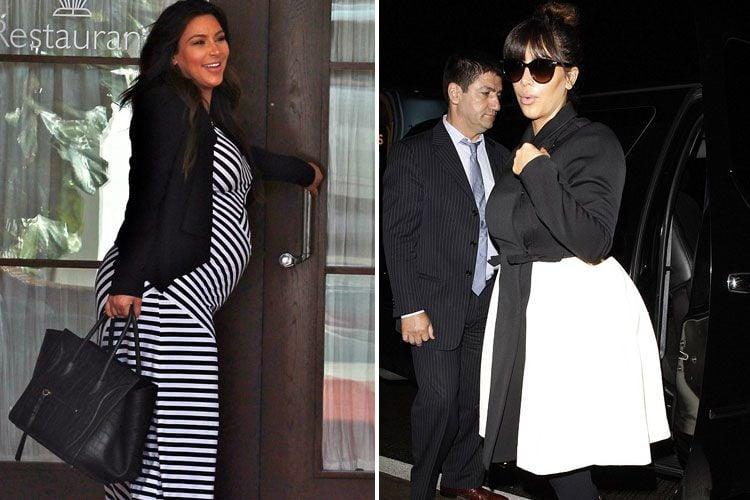 Kim Kardashian Maternity Outfits