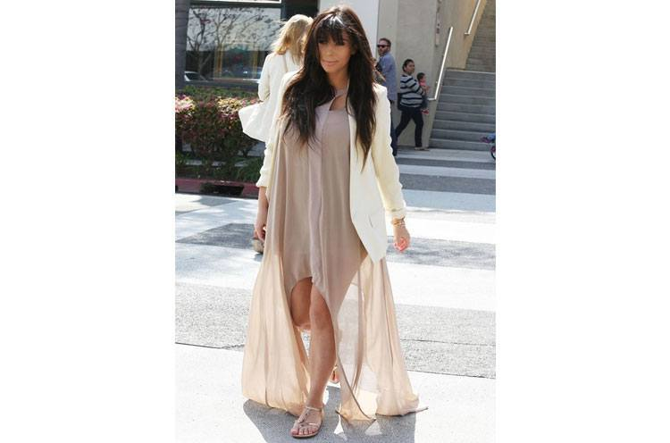 Kim Kardashian Pregnancy Fashion style