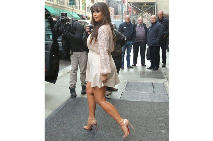 Kim Kardashian look imaternity