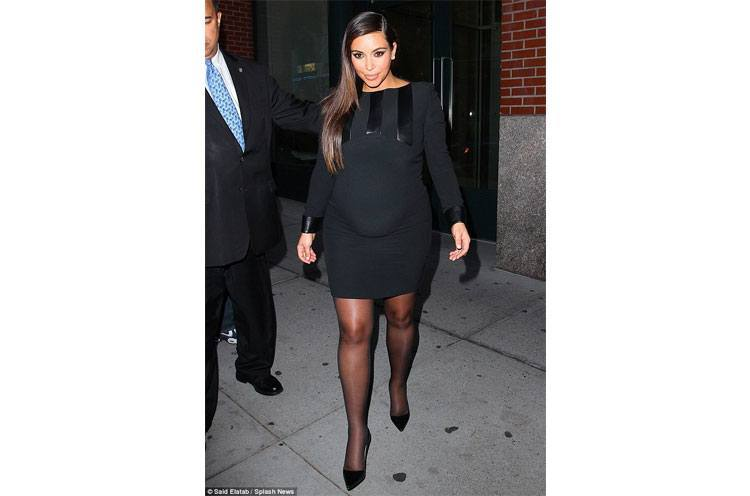 Kim Kardashian out for dinner at Cipriani in New York