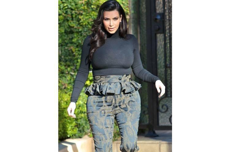 Kim Kardashian pregnent style