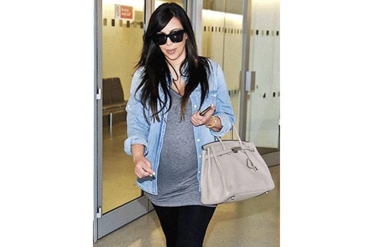 Kim Kardashians Baby No 2 Pregnancy Style