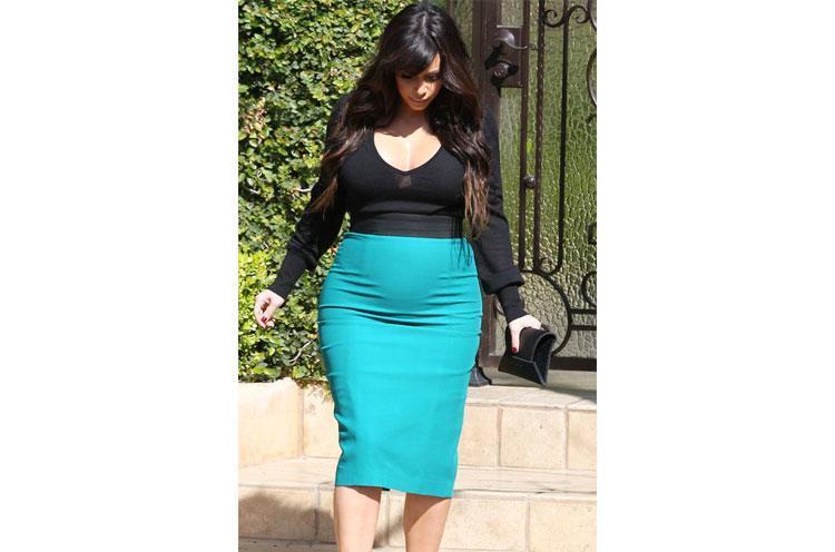 Kim Kardashians Best Maternity Style