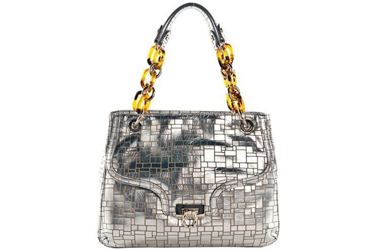 Leather Bling Bag