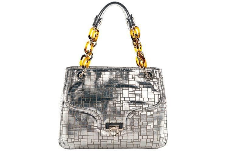 Leather Bling Bag