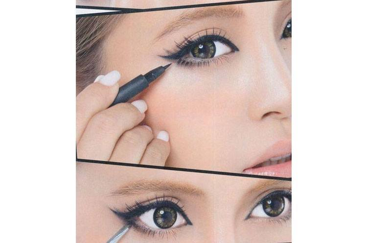 Make Your Eyes Look Big with Right Eyeliner