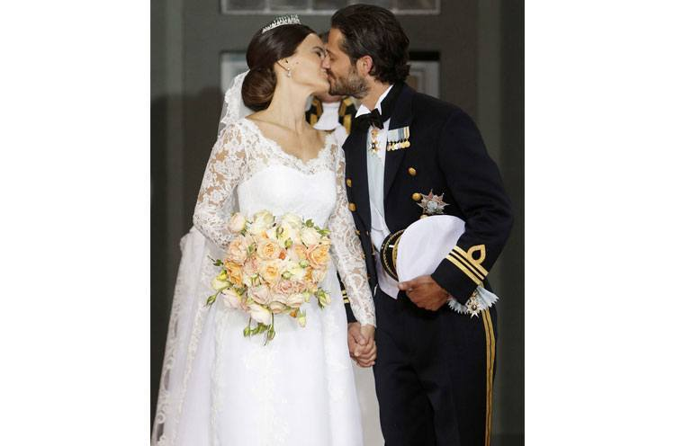 PDA at Swedish Royal Wedding 2015