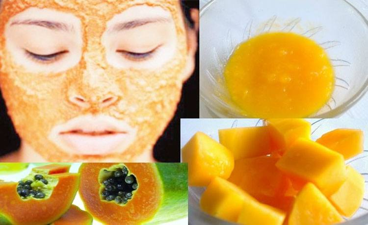 Papaya Facial Mask for Glowing skin