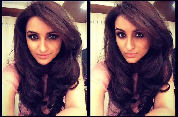Parineeti Chopra in Sexy Hairdo