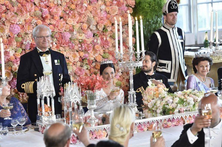 Prince Carl Philip and Princess Sofia of Swedens official wedding