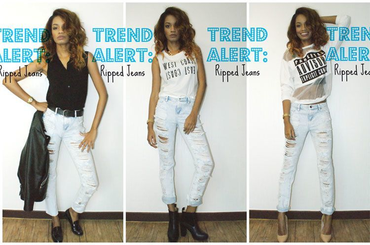 Ripped Jeans for Women