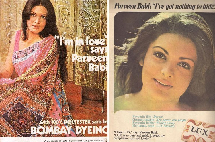 Image result for parveen babi young