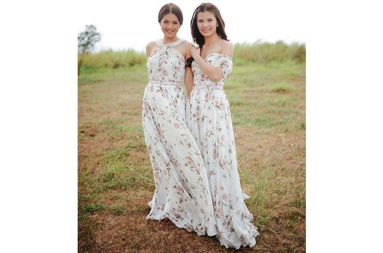 Summer weddings and floral prints