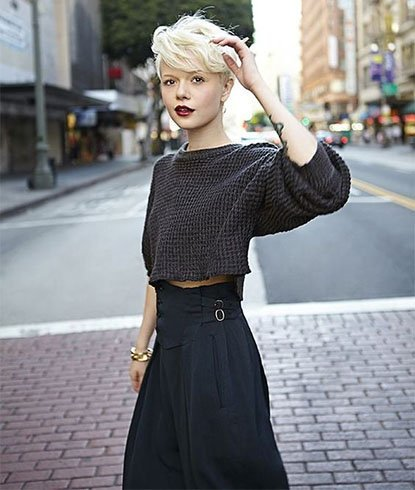 What To Wear With Short Hair