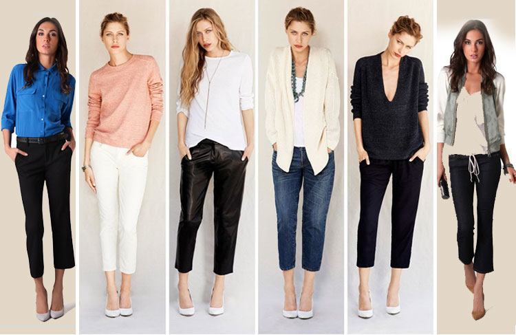 Can short Girls Wear Capri/Cropped Pants? Yes! Here's how!