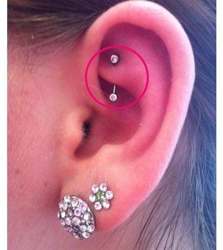 Anti Helix Ear Piercing