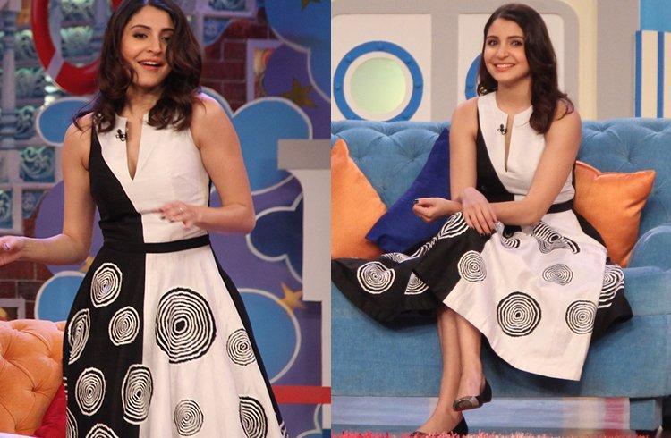 Anushka Sharma in urvashi dress
