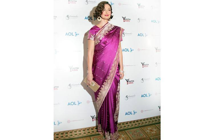 Ashley Judd in indian avatar