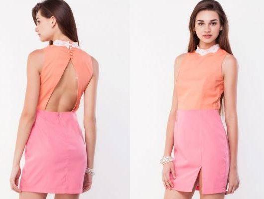 Backless dress for women