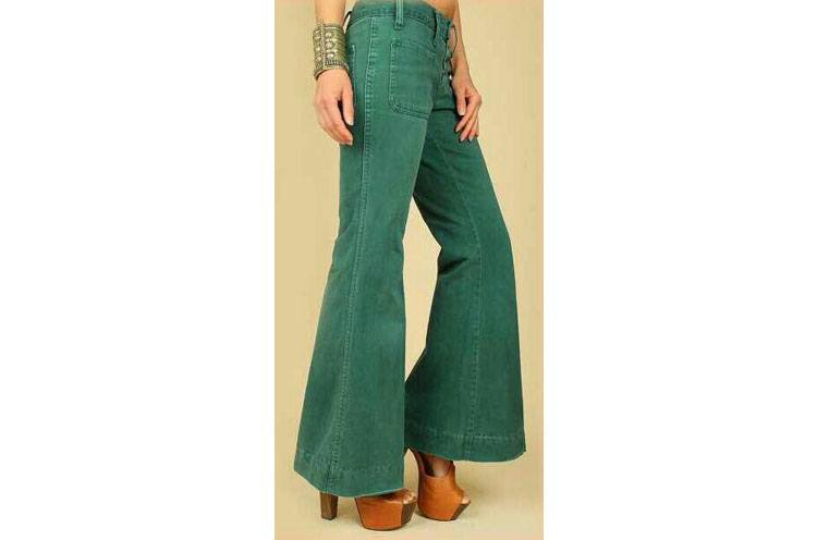 Outfits with Bell Bottom Pants-23 Ways to Wear Bell Bottom images