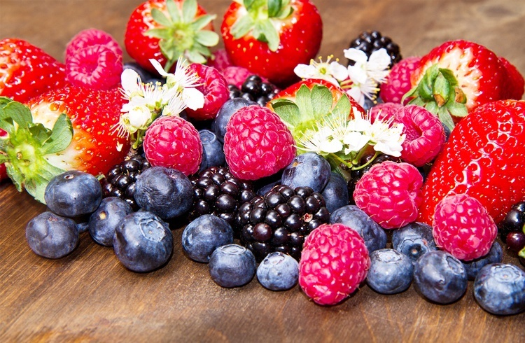 Berries preventing hair fall