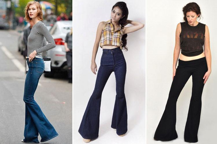 10 Ways to Style Those Sexy Bell-Bottoms in 2015