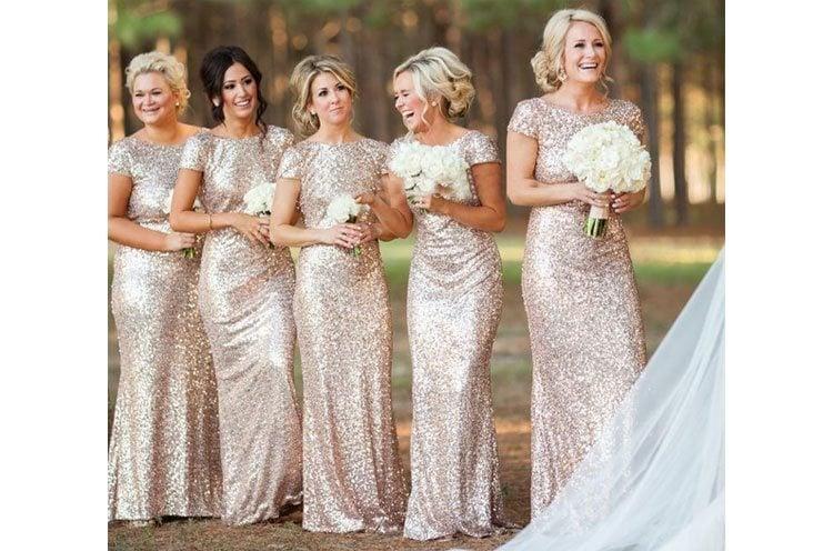 bridesmaids dress style