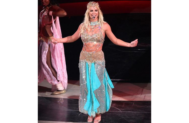 Britney Spears in indian avatar