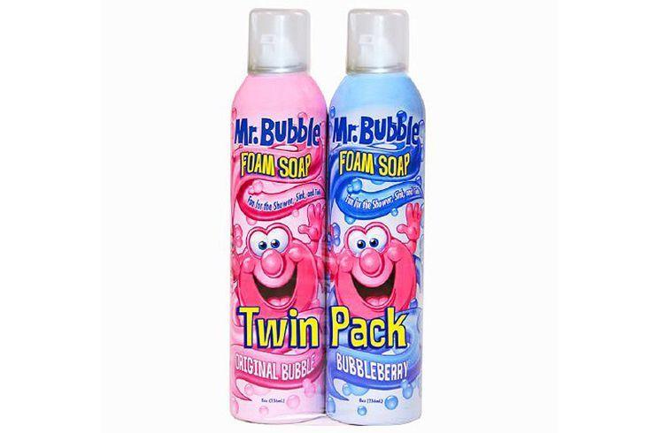 Bubble foam soap