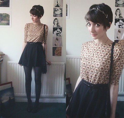 casual outfits for short hair