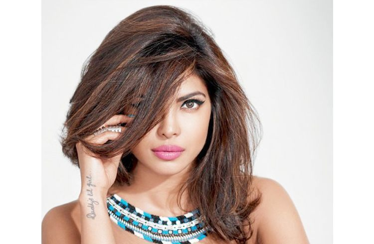 Celebrity Priyanka pouts