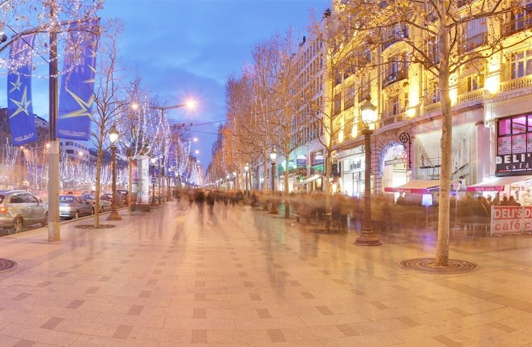 Champs Elysees Shopping Destinations