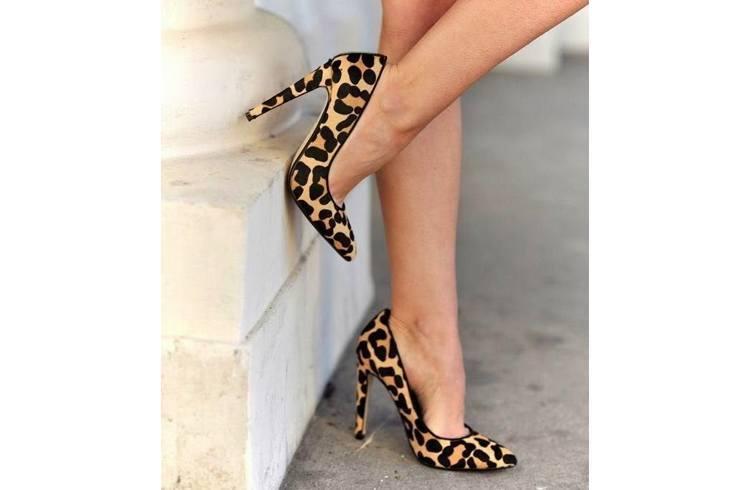 Cheetah print boldest trending heels
